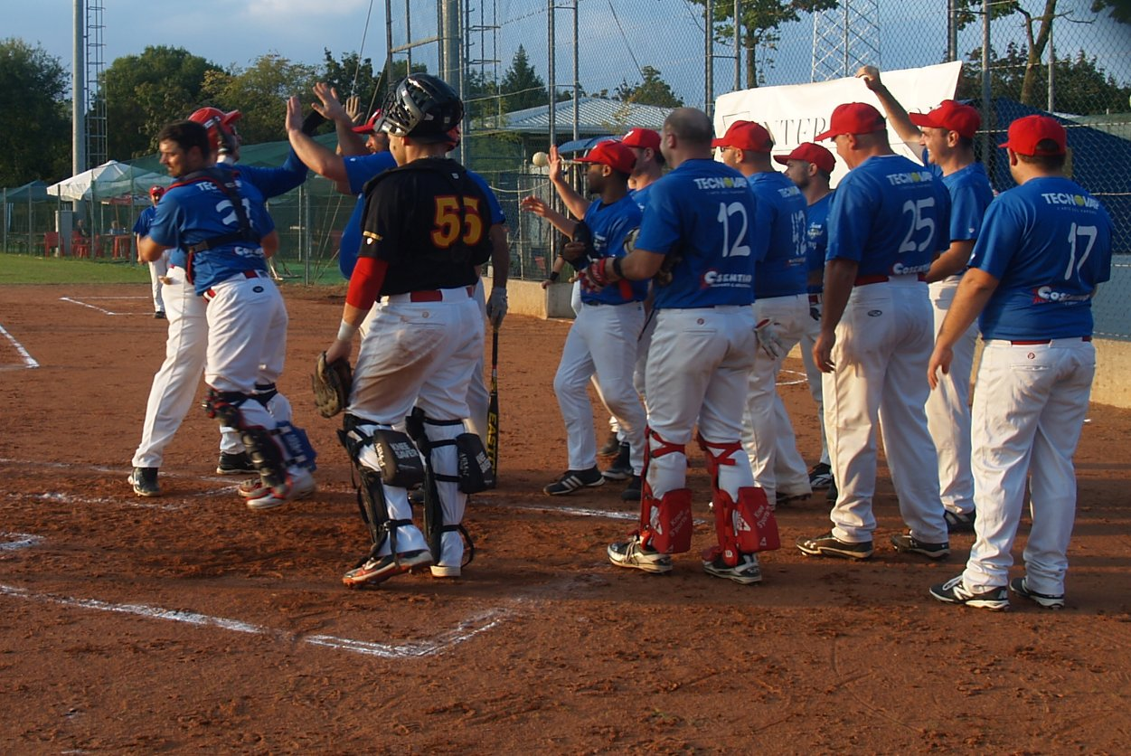 Finale campionato di softball maschile 2014: Team Enjoy FVG vs Pro Roma